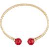 Bracelet, Gold and Red Bracelet, Gold,  - ブレスレット - $1,065.00  ~ ¥119,864