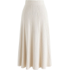 Braid Texture A-Line Knit skirt chicwish - Skirts -