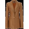 Brandon Maxwell Lapel-Detailed Wool-Silk - Chaquetas - $2.20  ~ 1.89€