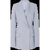 Brandon Maxwell Longline Ponte Blazer - Jacket - coats - $2.20