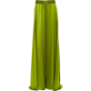Brandon Maxwell Silk-Satin Wide-Leg Pant - Pantaloni capri - $1.80  ~ 1.54€