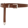 Brandon Maxwell Skinny Leather Belt - Paski -