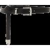 Brandon Maxwell Skinny Leather Belt - Belt -