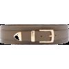 Brandon Maxwell Wide Leather Waist Belt - Belt - $595.00