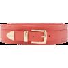 Brandon Maxwell Wide Leather Waist Belt - Paski - $595.00  ~ 511.04€