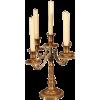 Brass 5 light candelabra - Furniture -