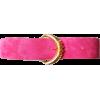 Pink Suede Belt - Belt -