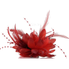 Bridal Flower Feather Bead Hair Clips - Other - $0.88