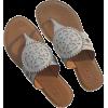 Brighton White Alexa Thong Sandals - 凉鞋 - $165.00  ~ ¥1,105.56
