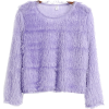 Bright silk fringed sweater - Pullovers - $17.99