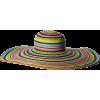 Brim Floppy Stripe Sun Hat - 有边帽 - $52.00  ~ ¥348.42