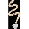 Brinker & Eliza Gold-Tone Until The End - Necklaces -