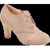 Brinley Co. lace up bootie suede - Klasične cipele -