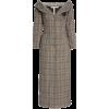 Brock Collection Roxana Plaid Cotton-Ble - Dresses -