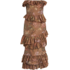 Brock Collection Roxella Strapless Ruffl - Dresses -