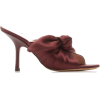Brock Collection Satin Knotted Mules - Sandals -