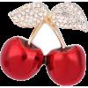 Brooch cherries - Illustrations -