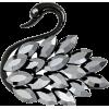 Brooch swan - Illustrations -