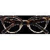 Browline Tortoise Eyeglasses - Očal -