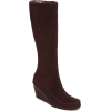 Brown wedge boot - Aerosole - Boots -