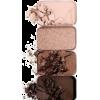 Brown. Beige. Palette of eyeshadow - Cosméticos -