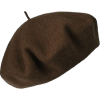 Brown Beret - Hat -