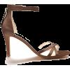 Brown Evening Heels - Sandálias -