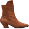 Brown Han 50 Suede Ankle Boots - Botas -