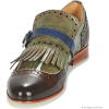 Brown / Olive - Shoes - Moccasin -