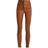 Brown. Pants - Leggings -