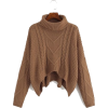 Brown. Pullover - Pullovers -