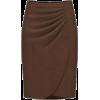 Brown Skirt - Skirts -