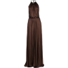 Brown Versace gown - Dresses -