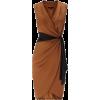 Brown and black dress - Vestidos -