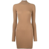 Brown dress 85 - Dresses -