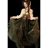 Brown dress model - People -