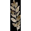 Brown leaf - Biljke -