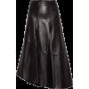Brunello Cucinelli Asymmetrical leather - Skirts -