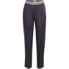 Brunello Cucinelli Satin Pants - Spodnie Capri -