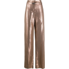 Brunello Cucinelli metallic-finish wide- - Capri & Cropped -
