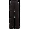 Burberry Crystal-trimmed wide-leg silk t - Capri hlače -