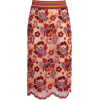 Burberry  Floral Crochet Fitted Skirt - Röcke -