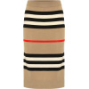 Burberry Icon Stripe merino wool skirt - Spudnice -