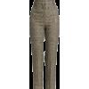 Burberry Lurex Wool Check Pants - Saias -