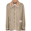 Burberry Printed quilted silk jacket - Jacket - coats -