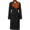 Burberry Two-Tone Gabardine Trenchcoat - Jacket - coats -