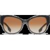 Burberry - Темные очки -