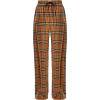 Burberry check drawstring trousers  - Uncategorized - $999.00  ~ 858.03€