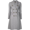 Burburry Grey Coat - Jacket - coats -