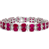 Burmese Ruby and Diamond Bracelet - Bracelets - £360,000.00  ~ $473,677.79